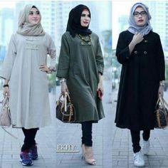 Women S Fashion Stores Queenstown Hijab Fashion, Girl Fashion, Fashion Outfits, Womens Fashion, Fashion Ideas, Modele Hijab, Muslim Hijab, Cotton Pants, Muslim Women