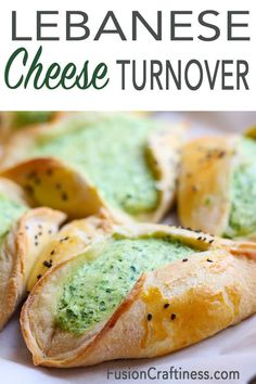 Lebanese Cheese Fatayer is a popular Middle Eastern vegetarian street food. Creamy, tasty and portable. Algerian Recipes, Lebanese Recipes, Super Bowl Essen, Eastern Cuisine, Middle Eastern Recipes, Appetizer Recipes, Appetizers, Mediterranean Recipes, Food Processor Recipes