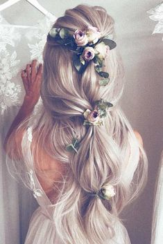 Cute Hairstyles Ideas , Trendy Hairstyles , Latest hair color , Hair color 2018 , Blonde hair color … - Home Different Hairstyles, Trendy Hairstyles, Girl Hairstyles, Bridal Hairstyles, Medium Hairstyles, Hairstyles 2018, Bridal Hairdo, Fashion Hairstyles, School Hairstyles