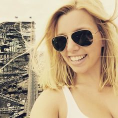 Seelfieee from Pylon Lookout at Sydney Harbour Bridge  #pylonlookout #sydney #sydneyharbourbridge #harbourbridge #havingthetimeofmylife #thebesttimeofmylife #australia #ilovesydney #iloveaustralia #enjoy #travel #holiday #rayban #blonde #picoftheday #itsme #thursday #weekendiscomingsoon #goodnight by marina_kaefer http://ift.tt/1NRMbNv