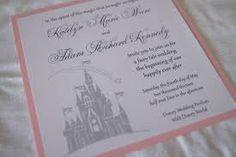 disney wedding invertations - Google Search