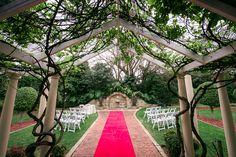 Wedding ceremonies at Enchanted Garden at Oatlands House
