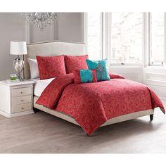 Casablanca Reversible 5-Piece Comforter Set - Overstock Shopping - Great Deals on Victoria Classics Comforter Sets