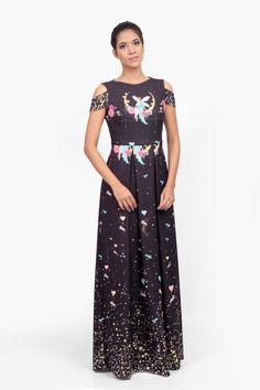Vestido Longo Fada na Lua