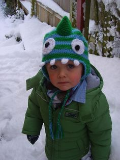 Crochet Dinosaur Hat-toddler/preschool hat