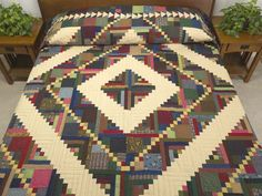 Home Sweet Home Quilt -- terrific made with care Amish Quilts from Lancaster (hs6301)
