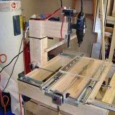Building a drawer slide CNC machine for under $200! instructables