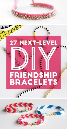 27 DIY Friendship Bracelets You'll Actually Want To Wear - fashion jewelry diy Ruby Bracelet, Bracelet Making, Jewelry Making, Beaded Bracelets, Knotted Bracelet, Estilo Hippie, Hippie Chic, Jewelry Crafts, Handmade Jewelry