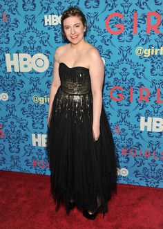 The Carefully Scripted Red-Carpet Look of Lena Dunham - NYTimes.com
