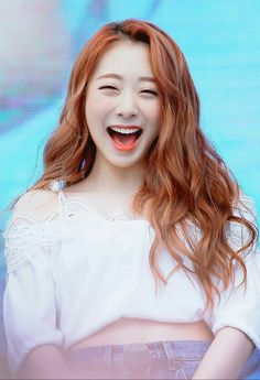 Best smile ever Kpop Girl Groups, Korean Girl Groups, Kpop Girls, Yuehua Entertainment, Starship Entertainment, Kpop Hair, Pre Debut, Kim Hyun, Air Force Blue