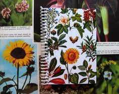 Plants for the Industry  Spiral Notebook 4 x 6 by Ciaffi on Etsy, $10.00