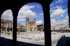 Vista de la Plaza Mayor de Trujillo - Extremadura