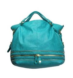 Urban Expressions Dakota Satchel in Turquoise