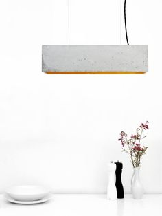 — Beautiful concrete lights by GANT http://mindsparklemag.com/ ➞ http://gantlights.de/ #Beautiful #concrete #lights #by #GANT