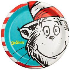 Dr. Seuss Theme Birthday; Dr. Seuss Theme Baby Shower; Dr. Seuss Dinner Plates; Dr. Seuss Napkins; Dr. Seuss Cups; Dr. Seuss tableware decor by SimplyCreatedForYou6 on Etsy