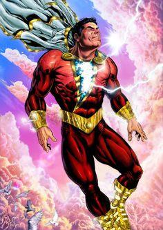 #dc #dccomics #captainmarvel #shazam #billybatson #superheroes #hero #lightning #comicwhisperer