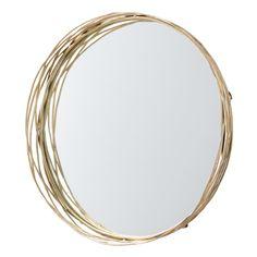 "Arteries --Rowsell Mirror  4.5 deep x 35"" diameter  $2100"