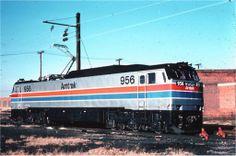 Amtrak 956 at Washington, DC Electric Train, Steamers, Jazz Age, Bahn, Capital City, Locomotive, Washington Dc, Diesel, Michigan