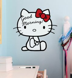 #HelloKitty Dry Erase Decals... Hello Kitty won't let you forget!