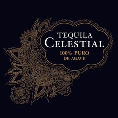 Tequila Celestial | brand identity /logo by Axion Design.