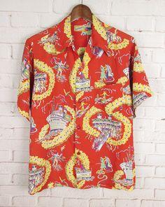 Vintage Hawaiian Islands Toddler Baby Girls Short Sleeve Ruffle T-Shirt