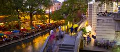 Get ready to call down to your water taxi from your Spanish-style hotel balcony in Texas -- these San Antonio Riverwalk hotels deliver a view to kill for.