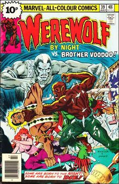 Werewolf by Night #39: Guest-starring Brother Voodoo!