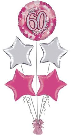 30th Birthday Balloons 80th Decorations Parties 70th 40th Bday Ideas Balloon