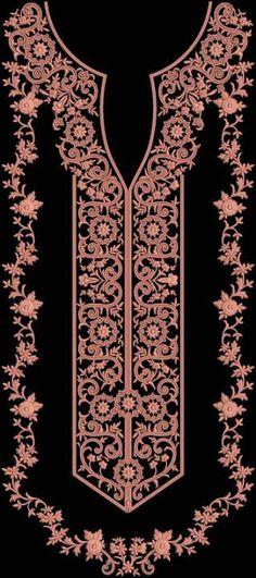 Fashion Blog: Necklines for Salwar Kameez | Ladies Dress Embroidery Design…