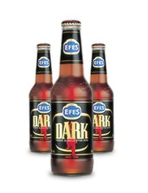 Efes Dark is a unique dark beer with hints of chocolate to provide a smooth and satisfying taste.