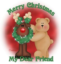 Merry Christmas Dear Friend Pictures, Photos, and Images for Facebook, Tumblr, Pinterest, and Twitter