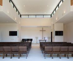 SOLANA BEACH PRESBYTERIAN CHURCH | chapel addition to existing campus. clerestory windows. natural light.