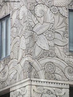 Facade Detail, Chanin Building, NYC Woooooooow...
