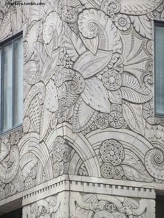 Facade Detail, Chanin Building, NYC