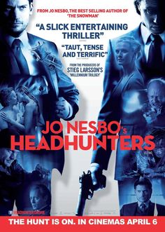 Book Chick City | Reviewing Urban Fantasy, Paranormal Romance & Horror | FRIDAY FILM REVIEW: Headhunters (2011) (click for review)