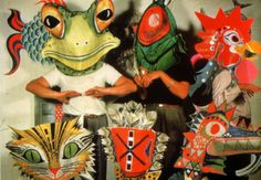 Eames Paper Masks