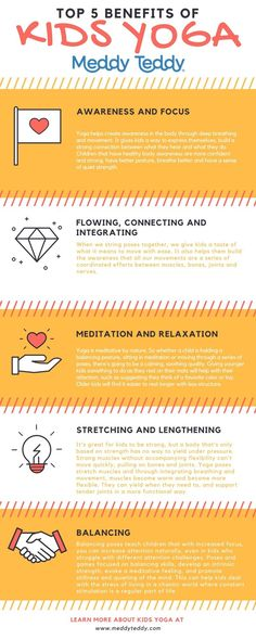 Check out these benefits for kids when they practice yoga!