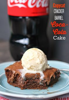 If you're a Cracker Barrel fan like me, you're sure to love this oh-so addicting copycat Coca-Cola Cake! It's absolutely phenomenal! A...