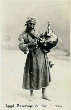 بائع العرقسوس .. القاهرة في العشرينات ..