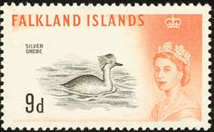 Silvery Grebe stamps - mainly images - gallery format