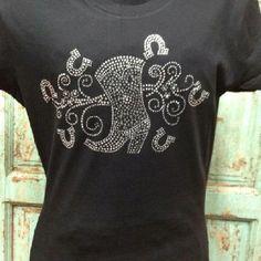 Rhinestone Tshirt