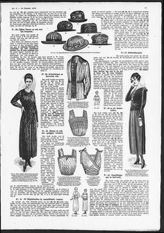 corset-cover style and bandeau brassieres from 1919