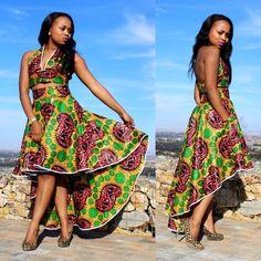ღ ♡ ♡ ღ ~ Ghanaian fashion ~DKK African Fashion Designers, African Inspired Fashion, African Dresses For Women, African Print Dresses, African Print Fashion, Africa Fashion, African Attire, African Wear, African Women