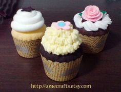 Felt Cupcakes.