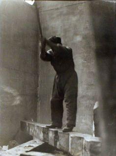 Constantin Brancusi  (Romanian sculptor) -Self Portrait, 1924. Courtesy Bruce Silverstein Gallery  http://www.pinterest.com/QuatreCantons/constantin-brancusi/