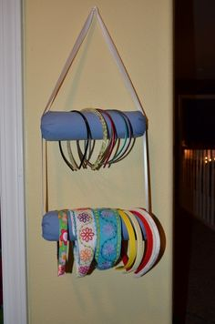 Paint Roller Headband Rack