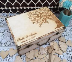 Wedding Guest Book / guest book / memory by FallenStarCoutureInc