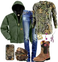 I'd wear camo any time! I just can't get none!