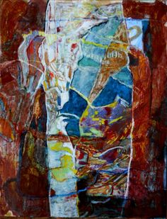 Freki - Painting, 50x65 cm ©2014 par Philippe Casaubon - Peinture