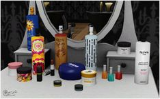 Beauty Salon & Florist's Dream more objects by Sandy - Sims 3 Downloads CC Caboodle